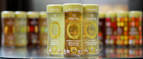 Argo Tea® is partnering with Whole Foods Market to launch the world's first line of ready-to-drink cold brew single estate bottled teas into the retailer's stores nationally this month. (Photo: Business Wire)