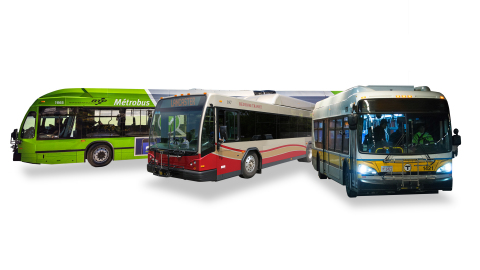 BAE Systems delivered its 8,000th hybrid electric drive system through market-leading bus manufacturers. (Photo: BAE Systems)