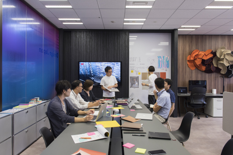 3Mデザインセンター・ジャパン。連携と創造性を求めて開設。(写真:ビジネスワイヤ)