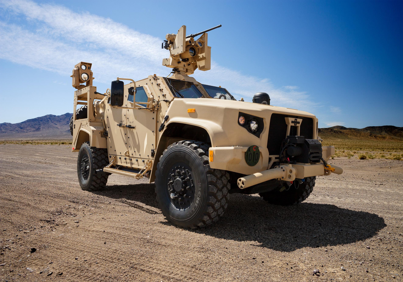 Oshkosh Defense Jltv >> Oshkosh Defense Showcases Jltv Vehicles With Next Generation Weapon