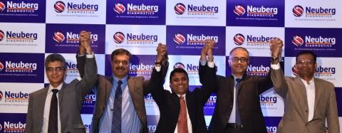 Left to right: Dr. N. Jayaram, Dr. Sandip Shah, Dr. G.S.K.Velu, Dr. Sujay Prasad, Anand. K (Photo: Business Wire)