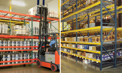 Twinlode manages beer in the warehouse (Photo: Business Wire)