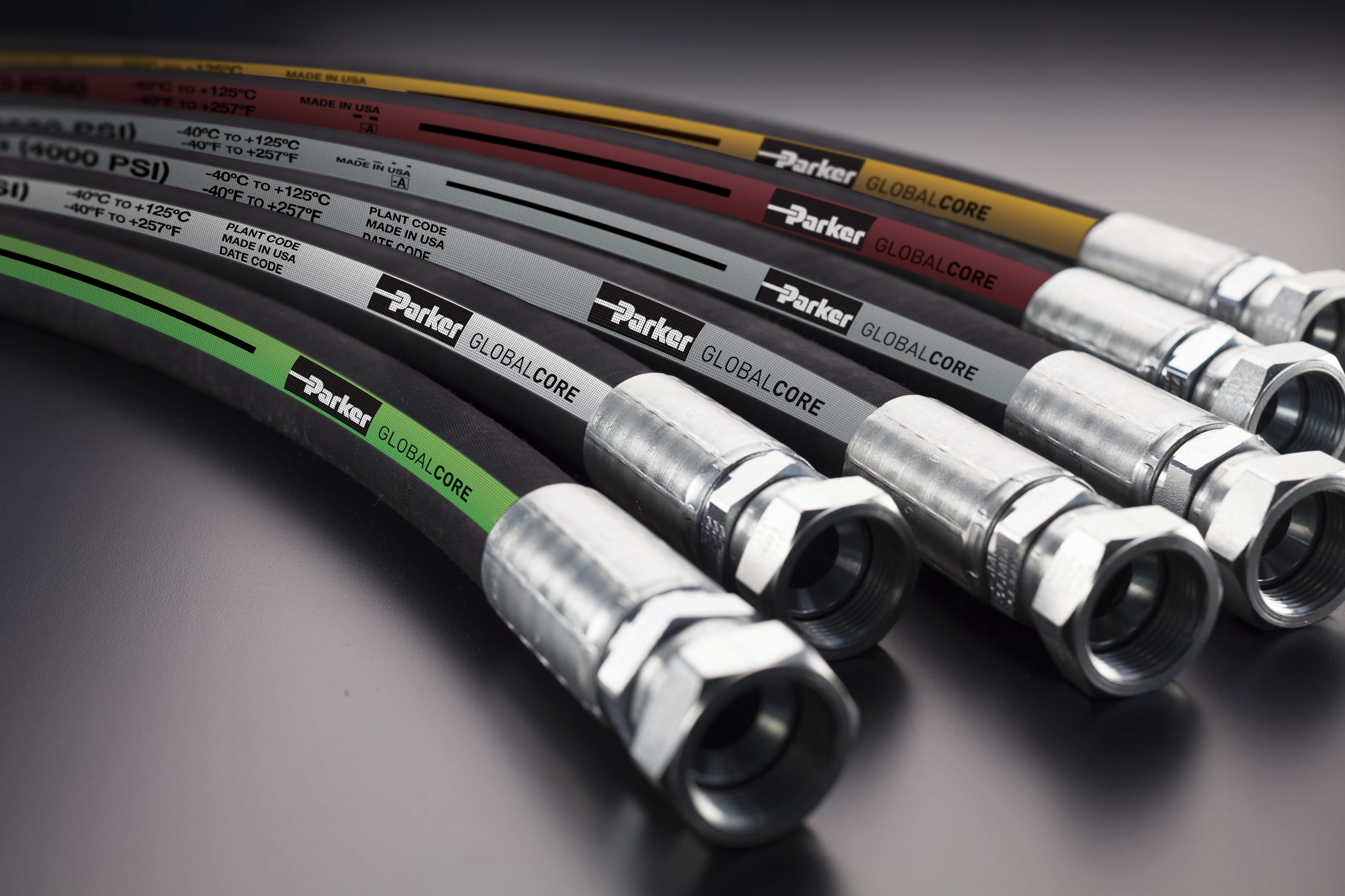 Parker's New GlobalCore 187 High Performance Hydraulic Hose