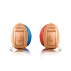 Insera is Unitron's smallest custom ITE hearing device. It sits comfortably in the ear, eliminating adjustment struggles throughout the day. (Photo: Business Wire)