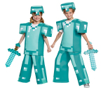Disguise Brings the Digital Adventures of Minecraft™ to Life with First Ever Minecraft™ Halloween Costumes. (Photo: Business Wire)