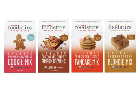 New Foodstirs USDA Organic baking mixes (Photo: Business Wire)