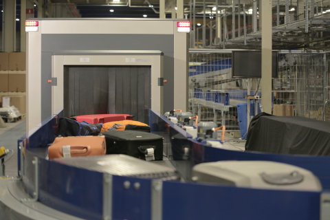 HI-SCAN 10080 XCT advanced hold baggage scanners (Photo: Business Wire)