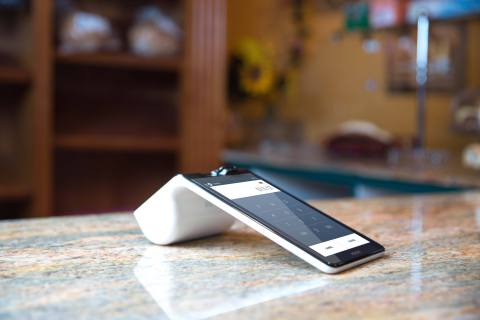 Poynt smart payment terminal (Photo: Business Wire).