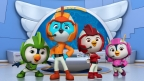 Nickelodeon's Top Wing (l-r) Brody, Swift, Rod and Penny (Photo: Business Wire)