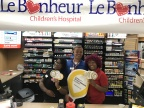 Employees at Love's 677 in West Point, Mississippi, pose with CMN Hospitals Miracle Balloons. (Photo: Business Wire)