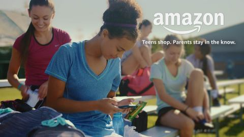 Teens can now explore Amazon with the independence of their own login and take advantage of select Prime benefits if their parents have a membership. (Photo: Business Wire)