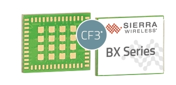 Sierra Wireless BX Series Wi-Fi and Bluetooth combo modules with built-in cloud services and security features (Photo: Business Wire)