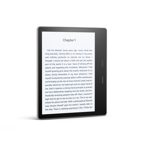 All-New Kindle Oasis - front (Photo: Business Wire)