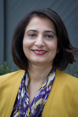 Global Upside COO Gita Bhargava is a Finalist for Stevie® Awards (Photo: Business Wire)