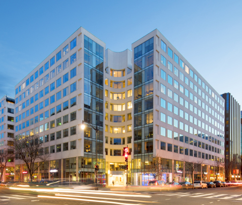 Allianz Real Estate and Columbia Property Trust Acquire 1800 M Street, Washington, D.C. (Photo: Nick Waring)