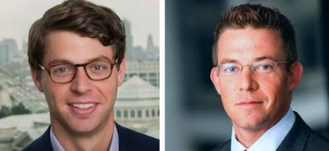 Tom Klein (left) and Roland Lessard (right), Morningside's new Co-CEOs (Photo: Business Wire)