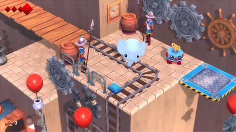 The Yono and the Celestial Elephants game is a grand adventure, featuring carefully designed puzzles, treasure hunts, a sprinkling of combat and a world full of people. (Photo: Business Wire)