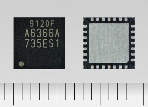 """Toshiba Electronic Devices & Storage Corporation: A constant-current 2-phase stepping motor driver """"TB9120FTG"""" for automotive applications. (Photo: Business Wire)"""
