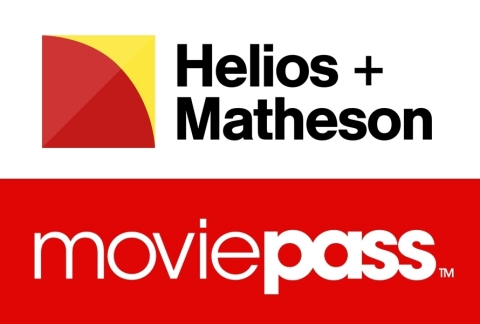 Helios and Matheson Analytics Inc. satisfies MoviePass transaction financing condition, increases investment in MoviePass and acquires option for additional investment in MoviePass (Photo: Business Wire)