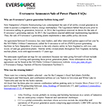 Eversource Sells Power Plants FAQ