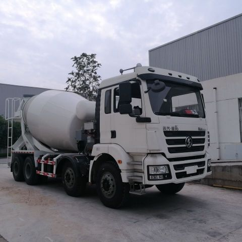 Efficient Drivetrains delivers industry-first PHEV construction truck. EDI PowerDrive™ 8000 integrated into Shaanxi Automotive Class-8 Cement Mixer Truck. (Photo: Business Wire)