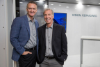 PGT Innovations President, Jeff Jackson (left), to succeed Rod Hershberger (right) as CEO in January 2018. (Photo: Business Wire)