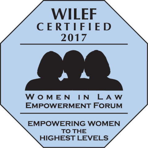 Dorsey & Whitney LLP has once again received Gold Standard Certification from the Women in Law Empowerment Forum (WILEF). (Graphic: Business Wire)
