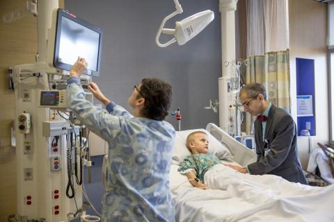 Randall Children's Hospital at Legacy Emanuel Pediatric Intensive Care Unit (PICU) (Photo: Business Wire)