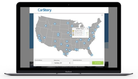 CarStory Leaderboard (Photo: Business Wire)
