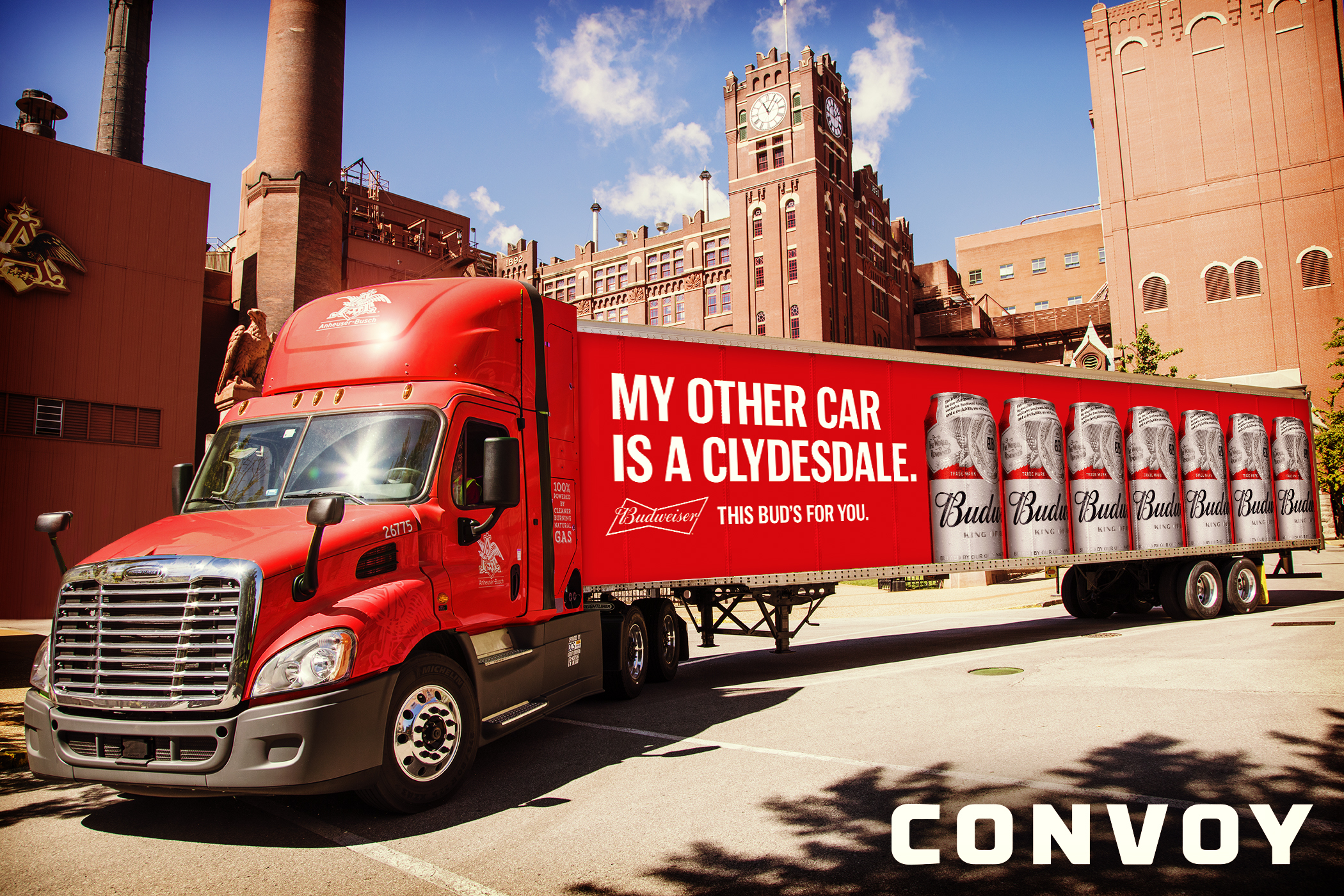 Anheuser-Busch and Convoy Sign Multi-Year Partnership to Drive