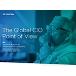 """The Global CIO Point of View"" from ServiceNow outlines a new agenda for transformative leadership based on a survey of 500 CIOs."