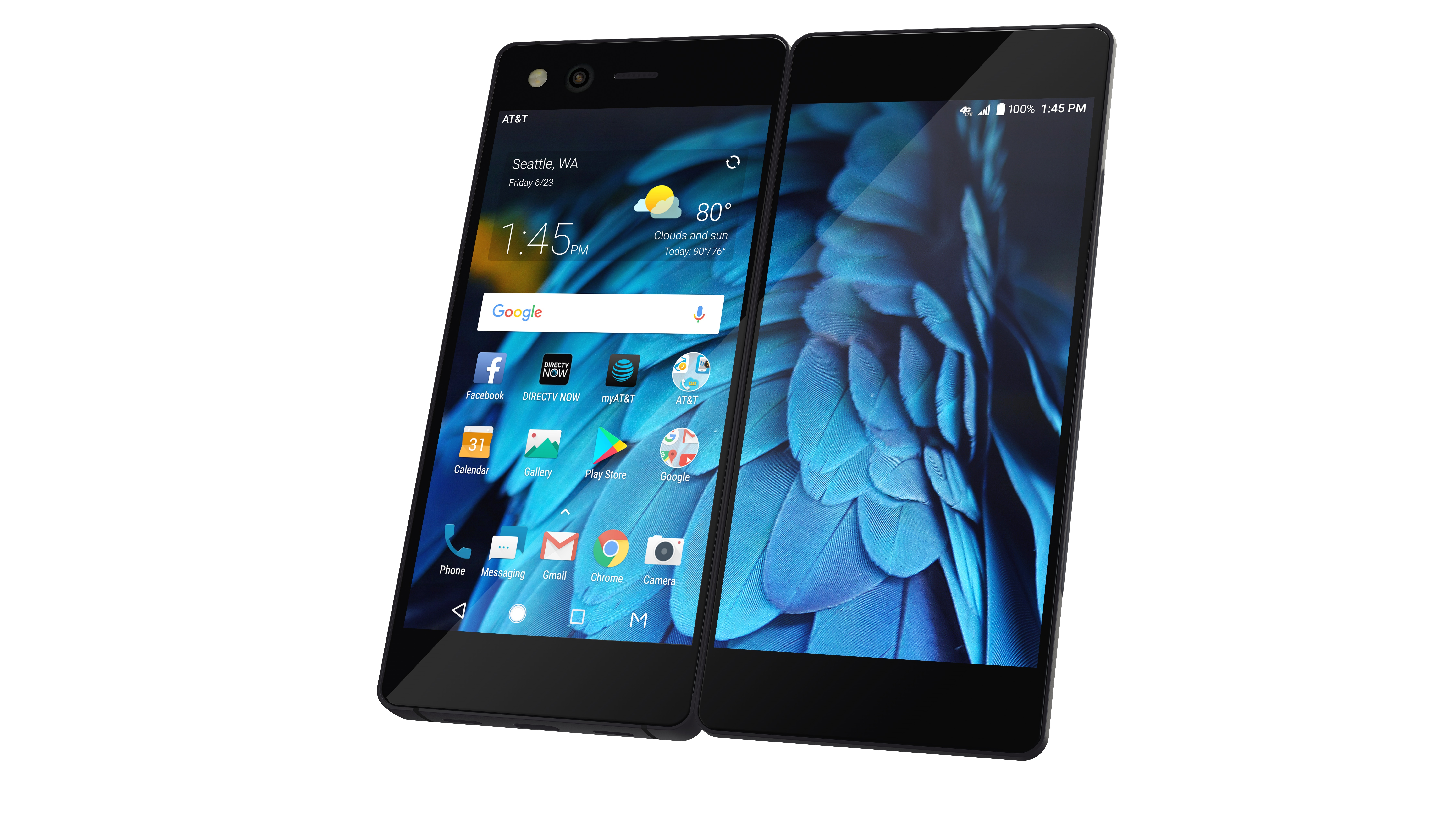 The New Foldable ZTE Axon M with Dual Screens Transforms the Mobile ...