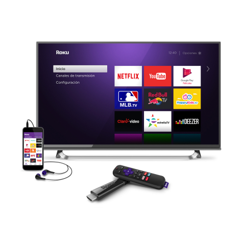 Roku Streaming Stick+ with Roku OS (Photo: Business Wire)