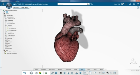 Living Heart. Copyright Dassault Systèmes.