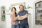 Chip and Joanna Gaines of HGTV's Fixer Upper (Photo: Business Wire)