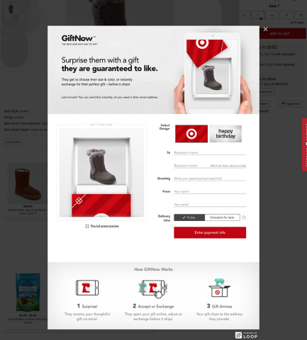 Target GiftNow (Photo: Business Wire)