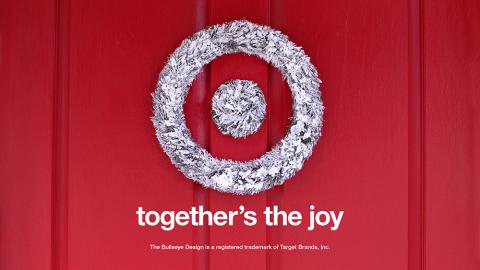 Target Bullseye Wreath (Photo: Business Wire)
