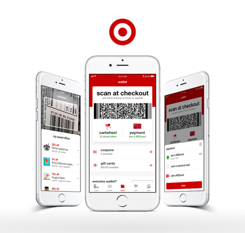 Target Wallet (Photo: Business Wire)