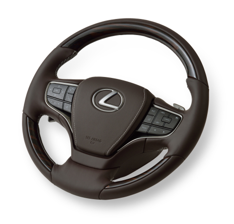 Steering wheel with grip sensor (Photo: Business Wire)