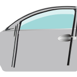 Toyoda Gosei Develops Glass Run with New Structure for Improved Automobile Design Characteristics and Quietness
