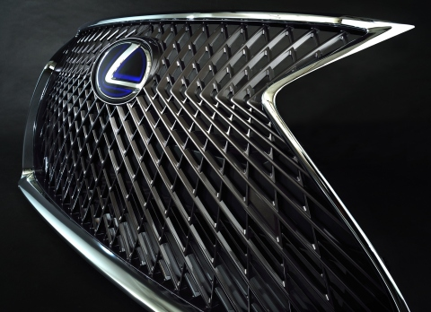 Large radiator grille (Photo: Business Wire)