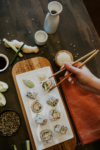 Dine-in guests can get a free California Roll at participating P.F. Chang's this Thursday, October 26. (Photo: Business Wire)