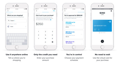 Affirm App Experience (Photo: Business Wire)
