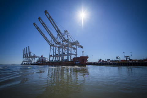 The delivery of three new dockside electric cranes to Port Houston's Barbours Cut terminal will incr ...