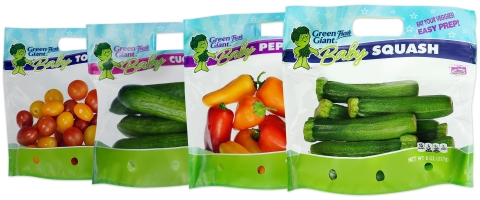Baby Vegetables Are Big for Robinson Fresh and Green Giant Fresh (Photo: Robinson Fresh).