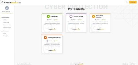 CyberScout Launches Innovative Solution to Protect Customers Against Cyber Fraud, Increase Engagement, and Add Revenue (Graphic: Business Wire)