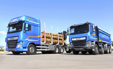 DAF XF and CF Vocational Trucks (Photo: Business Wire)