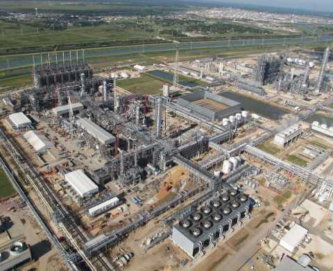 Dow's new ethylene production facility in Freeport, Texas (Photo: Business Wire)