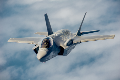 An initial Lockheed Martin $24 million three-year contract for additional F-35 composite components increases Orbital ATK production content on the Joint Strike Fighter Program (Photo: Business Wire)