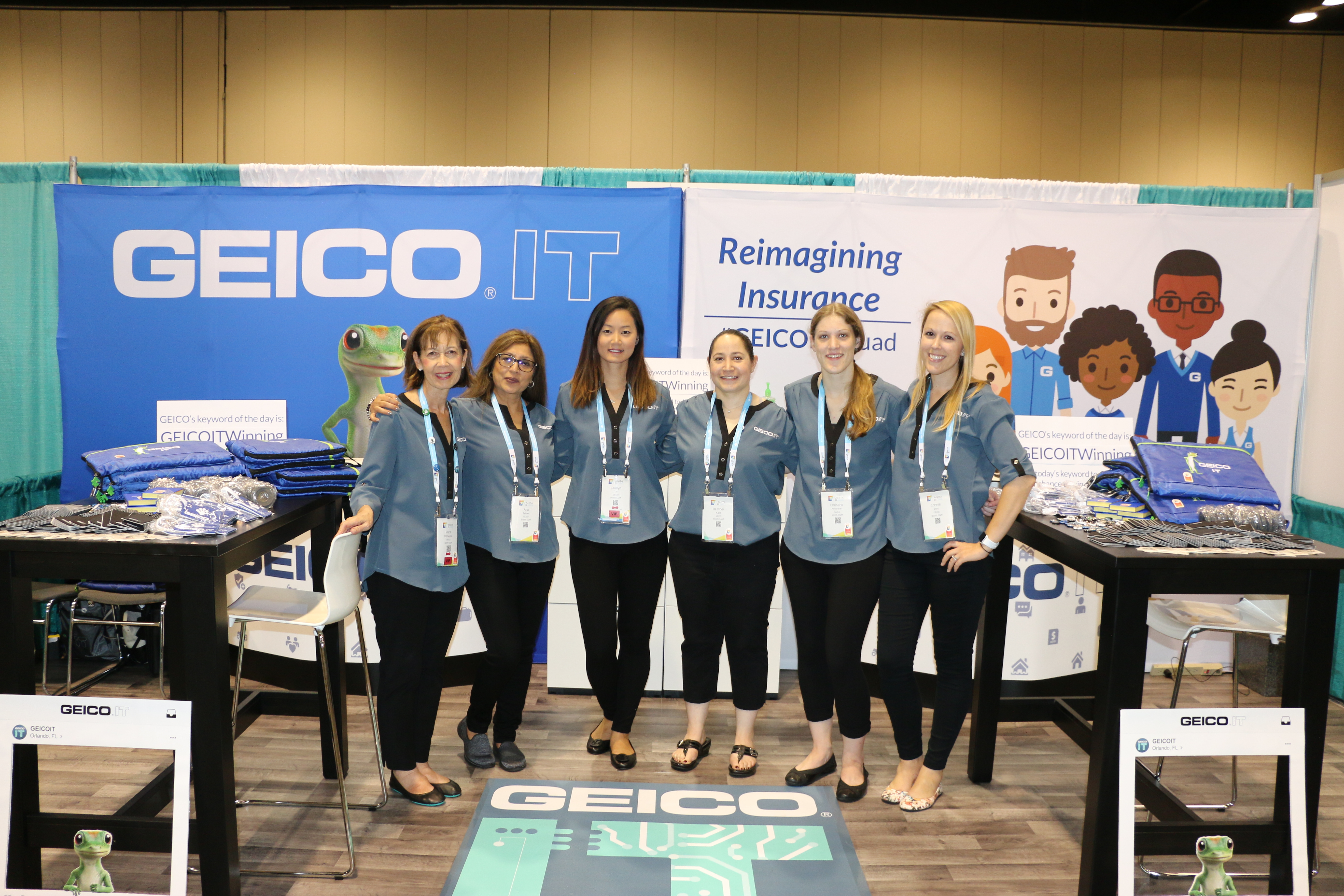 GEICO Earns Top panies for Women Technologists Award